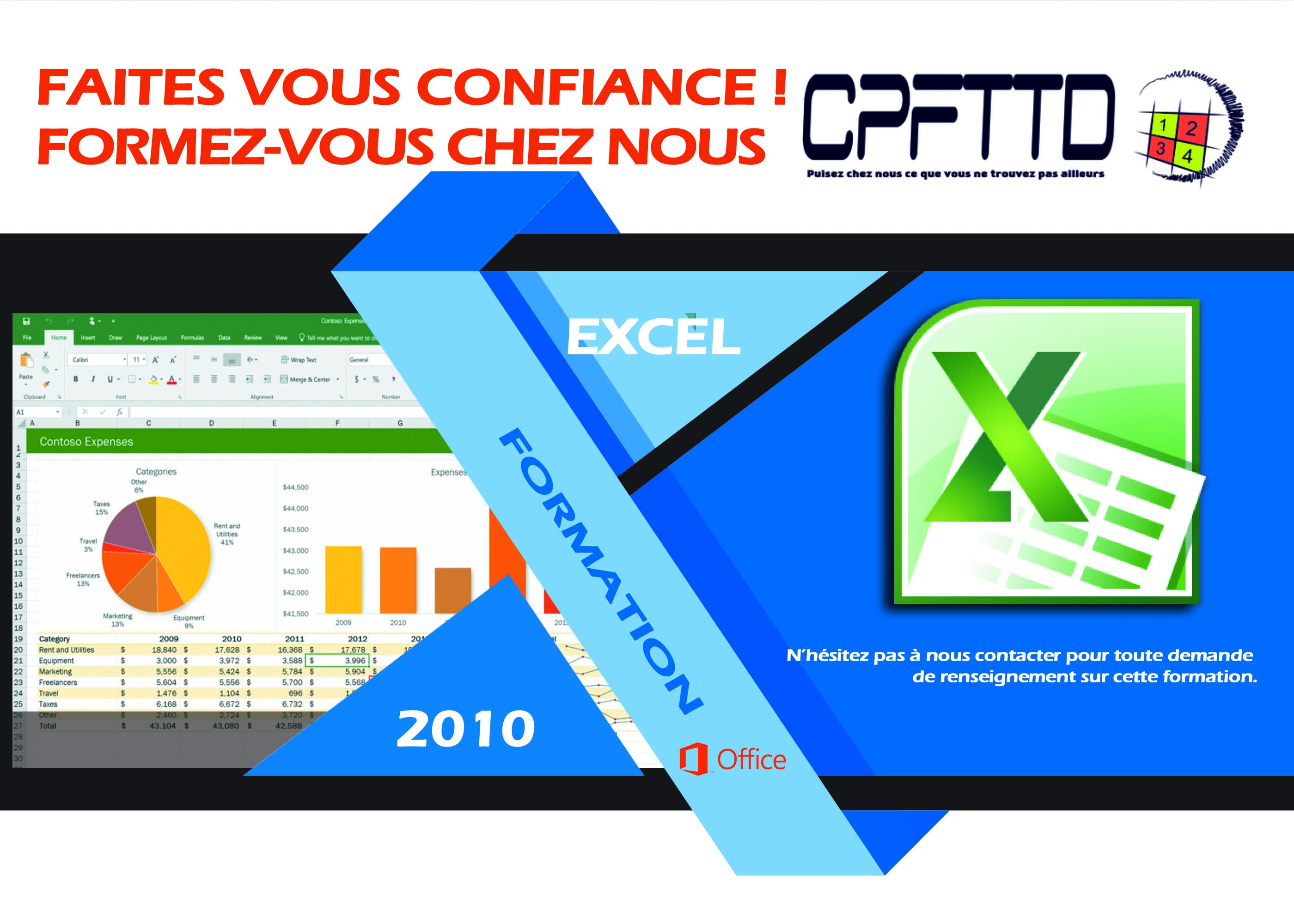 initiation excel 2010 cpfttd